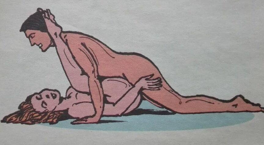 Dziki jeździec - pozycja seksualna wierzgające dzikie konie